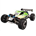 cheap RC Cars-RC Car WLtoys A959-B 2.4G Buggy (Off-road) / Off Road Car / Drift Car 1:18 Brush Electric 70 km/h Remote Control / RC / Rechargeable / Electric