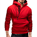 cheap Cake Molds-Men's Plus Size Sports Weekend Active Hoodie - Letter