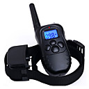 cheap Dog Collars, Harnesses & Leashes-Dog Bark Collar Dog Training Collars Waterproof Anti Bark Rechargeable Remote Control 300M Shock/Vibration Solid Plastic Black