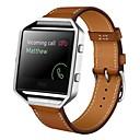 billige Smartklokke Tilbehør-Klokkerem til Fitbit Blaze Fitbit Sportsrem Lær Håndleddsrem