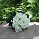 זול פרחים מלאכותיים-פרחים מלאכותיים 1 ענף סגנון מינימליסטי ורדים פרחים לשולחן