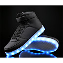 cheap Men's Sneakers-Boys' Shoes Cowhide / PU Spring Comfort / Light Up Shoes Sneakers for White / Black / Blue