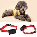 cheap Dog Collars, Harnesses & Leashes-Dog Bark Collar Anti Bark Shock/Vibration Electronic/Electric Solid Colored Nylon Red