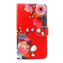 cheap Cell Phone Cases & Screen Protectors-Case For Wiko Card Holder Wallet with Stand Full Body Cases Flower Hard PU Leather for Wiko Sunset 2 Wiko Lenny 3 Wiko Lenny 2