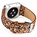 baratos Smartwatch Acessórios-Pulseiras de Relógio para Apple Watch Series 4/3/2/1 Apple Fecho Clássico Couro Legitimo Tira de Pulso