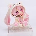 billige Anime actionfigurer-Anime Action Figurer Inspirert av Cosplay Snow Miku PVC 14 cm CM Modell Leker Dukke