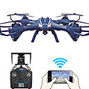 hesapli Video Oyunu Cosplay Perukları-Drone Udi R / C U818S WIFI 4CH 6 Eksen 2.4G 720P HD Kameralı RC 4 Pervaneli HelikopterFPV / LED Aydınlatma / Dönüş Için Tek Anahtar /