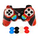 hesapli PS3 Aksesuarları-Kablosuz Oyun Kontrol Üniteleri Uyumluluk Sony PS3 ,  Yenilikçi Oyun Kontrol Üniteleri Silikon / ABS 1 pcs birim