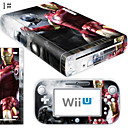 preiswerte Wii U Zubehör-B-SKIN Audio und Video Aufkleber Für Wii U / Nintendo Wii U . Neuartige Aufkleber PVC / Gummi Einheit