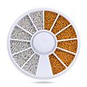 voordelige Nagelstrass & Decoraties-1pcs Nail Art Decoration Rhinestone Pearls make-up Cosmetische Nail Art Design