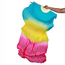 cheap Board Games-Belly Dance Stage Props Women's Performance Silk Ruched Wand