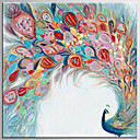 baratos Pinturas a Óleo-Pintura a Óleo Pintados à mão - Arte Pop Clássico Modern Tela de pintura