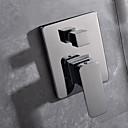 halpa Bi-pin LED-lamput-Suihkuhana - Nykyaikainen Kromi Seinäasennus Keraaminen venttiili