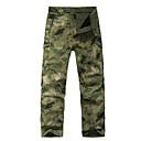 זול מכנסיים ושורטים לציד-מכנסי ציד בצבעי הסוואה יוניסקס עמיד למים / שמור על חום הגוף / עמיד להסוות ז'קט עם שכבה חיצונית רכה ל סקי / מחנאות וטיולים / ציד