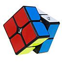 baratos Cubos de Rubik-Rubik's Cube QI YI 2*2*2 Cubo Macio de Velocidade Cubos mágicos Cubo Mágico Nível Profissional Velocidade Clássico Crianças Adulto Brinquedos Para Meninos Para Meninas Dom