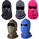 cheap Wall Sconces-Hiking Hat Balaclava Windproof Thermal / Warm Fall Winter Black Men's Women's Skiing Camping / Hiking Hunting Solid Color / Fleece / Fleece