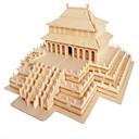 halpa Kynsitarrat-Puiset palapelit Kiinalainen arkkitehtuuri Professional Level Puinen 1pcs Poikien Lahja