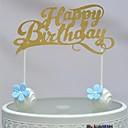 זול אספקה למסיבות-קישוטים לעוגה נושא חוף לבבות נייר כרטיסים יום הולדת עם פפיון 1 OPP