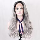 billige Kostumeparyk-Syntetiske parykker Naturligt, bølget hår Syntetisk hår Natural Hairline Paryk Dame Blonde Front