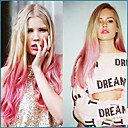 cheap Synthetic Capless Wigs-Synthetic Lace Front Wig Straight Pink Synthetic Hair Natural Hairline Pink Wig Women's Lace Front Pink
