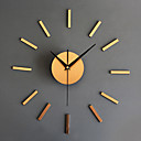 cheap RC Parts & Accessories-Wall Clock,Modern Contemporary Retro Acrylic Glass Metal Round Indoor / Outdoor
