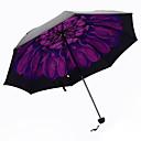abordables Paraguas/Parasol-Morado Paraguas de Doblar Sombrilla Plastic Carrito de Bebé