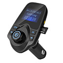 cheap Bluetooth Car Kit/Hands-free-Hot Sale Bluetooth FM Transmitter Support TF Card U Disk Car Charger