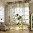 """preiswerte Vorhänge & Gardinen-Gardinen Shades Esszimmer Ein Panel 39WX 98 """"L aschgrau / Wohnzimmer"""