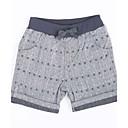baratos Camisas para Meninos-Bébé Para Meninos Sólido Algodão Shorts