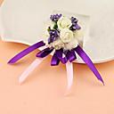 """povoljno Podvezice-Cvijeće za vjenčanje Wrist Corsage Jedinstven svadbeni dekor Special Occasion Zabava / večer Saten 1.18 """"(Approx.3cm)"""