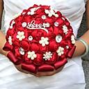 """povoljno Cvijeće za vjenčanje-Cvijeće za vjenčanje Buketi Vjenčanje / Zabava / večer Perle / Umjetno drago kamenje / Svila 19,7 """"(Approx.50cm)"""