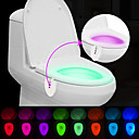 cheap Night Lights-BRELONG® 1 pc Toilet Light Sensor Waterproof Ultraviolet Light Color-Changing