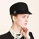 tanie Imprezowe nakrycia głowy-Kobiety Wełna Winieta-Przypadkowy Na wolnym powietrzu Czapki 1 sztuka
