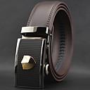 abordables Accesorios para Hombre-Hombre Elegante, Piel Legierung Cinturón de Cintura - Lujo Trabajo Casual Un Color