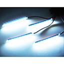 preiswerte Car Stickers-Auto dekorative Atmosphären-Lampe Ladung LED-Innenboden Dekoration Licht mit Mini-Dimmer LED einfarbig 4pcs