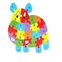 povoljno Drvene puzzle-Kocke za slaganje Puzzle Puzzle s klinom Konj Životinje Noviteti drven 1 pcs Dječji Dječaci Djevojčice Igračke za kućne ljubimce Poklon