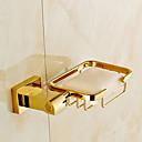 ราคาถูก อุปกรณ์ติดตั้งในห้องน้ำ-จานสบู่และตัวยึด ร่วมสมัย ทองเหลือง 1 ชิ้น - อ่างอาบน้ำของโรงแรม