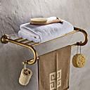 billige Trykk-Hylle til badeværelset Antikk Messing 1 stk - Hotell bad Dobbel