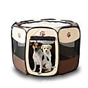 billige Kjære julekostymer-Kat Hund Tent Kæledyr Transportbedrifter Sammenleggbar Tegneserie Gul Rose Brun Rød Mørkerød