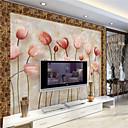 tanie Fresk-Art Deco 3D Dekoracja domowa Współczesny Tapetowanie, Brezentowy Materiał klej wymagane Fresk, Pokój tapet