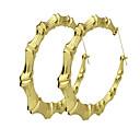 halpa Muotikorvakorut-Naisten Korvarenkaat - Kulta Käyttötarkoitus Kausaliteetti