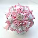 "cheap Wedding Flowers-Wedding Flowers Bouquets Wedding Party / Evening Satin Foam 9.84""(Approx.25cm)"