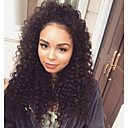 cheap Synthetic Capless Wigs-120 high density glueless lace front human hair wigs with baby hair lace front wig for black women deep curly wave peruvian wig
