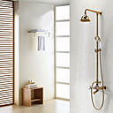 preiswerte Duscharmaturen-Duscharmaturen - Antike Ti-PVD Duschsystem Keramisches Ventil