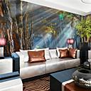 billige Vegglamper-Veggmaleri Lerret Tapetsering - selvklebende nødvendig Art Deco / 3D