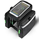 cheap Bike Frame Bags-Bike BagBike Frame Bag Waterproof Waterproof Zipper Wearable Phone/Iphone Breathable Touch Screen Shockproof Bicycle Bag Nylon Cycle Bag