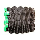 cheap Unprocessed Hair-Human Hair Remy Weaves Body Wave Indian Hair 1000 g