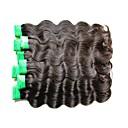 billige Parykker af ægte menneskerhår-4 pakker Indisk hår Krop Bølge Remy hår Menneskehår, Bølget Menneskehår Vævninger Menneskehår Extensions