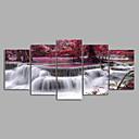 cheap Rolled Canvas Prints-Print Rolled Canvas Prints - Landscape Modern Five Panels