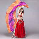 hesapli Dans Aksesuarları-Göbek Dansı Sahne Malzemeleri / Başlık Kadın's Eğitim / Performans İpek Kaşkol / Yoga